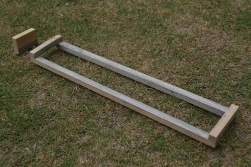 モルタル用木枠&ストッパーの作り方