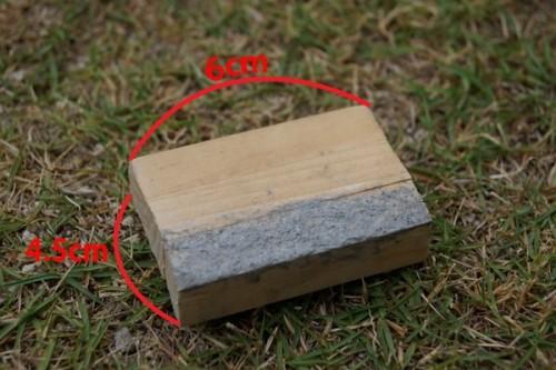 モルタル用木枠ストッパー